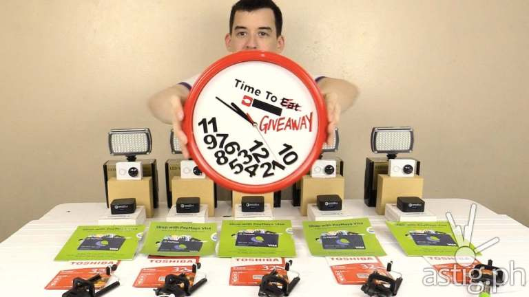 youtube giveaway gadget addict