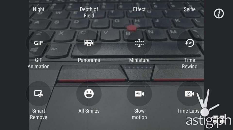 ASUS ZenFone 3 PixelMaster camera options