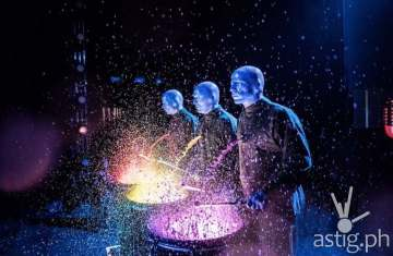Blue Man Group live in Manila (1)