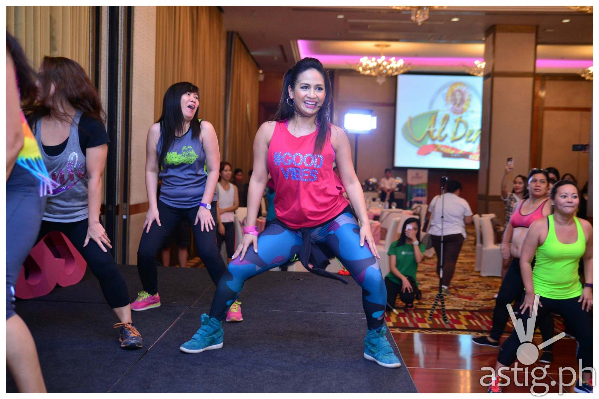 Fun food and fitness with jeunesse anion astig ph for Sideboard zumba
