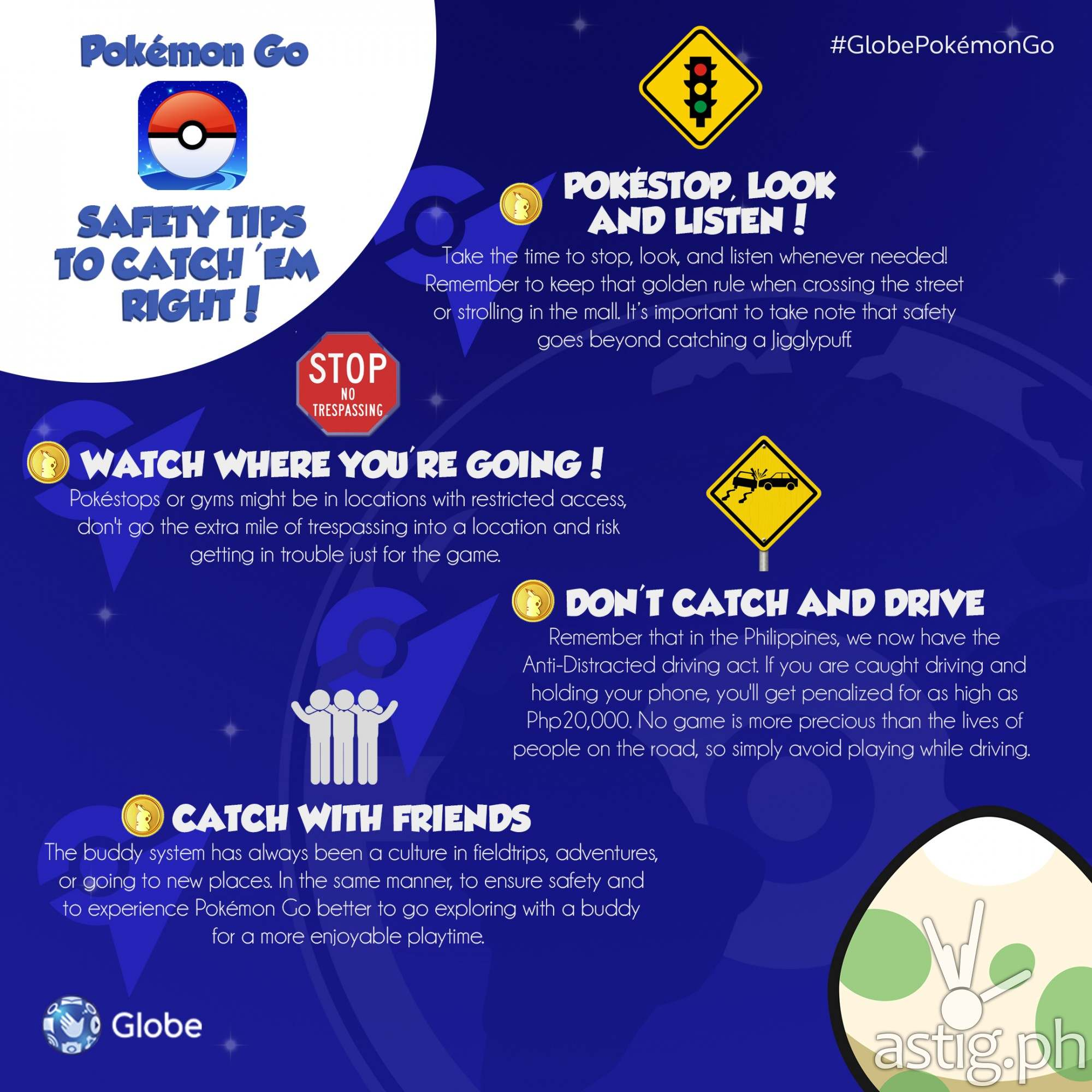 Play Pokemon GO free in the Philippines [infographic]