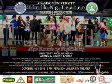 Tinik ng Teatro Adamson University