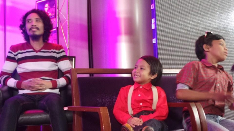(L-R) Pepe Herrera, Onyok and Makmak
