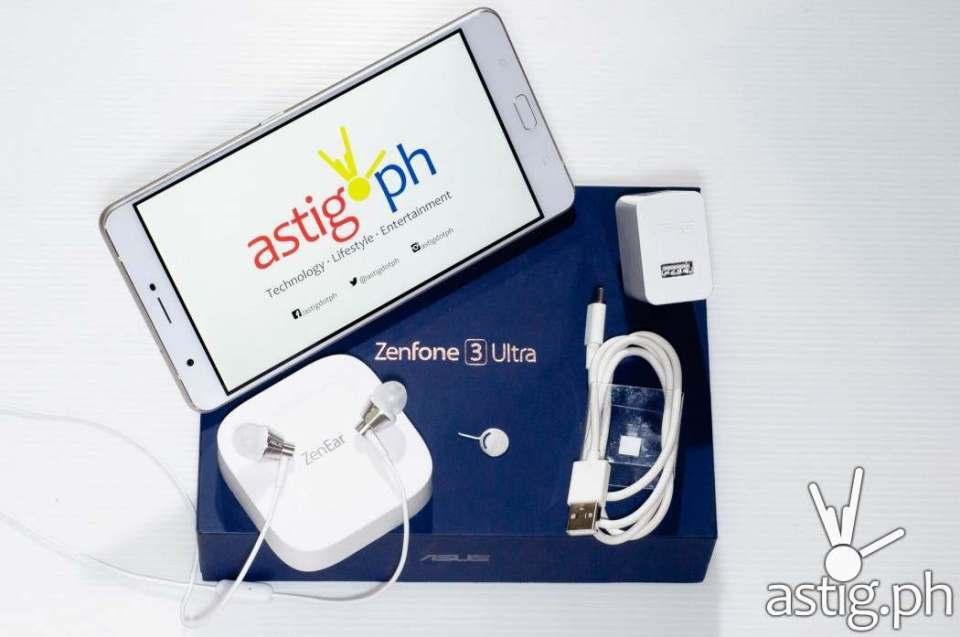 ASUS Zenfone 3 Ultra unboxing