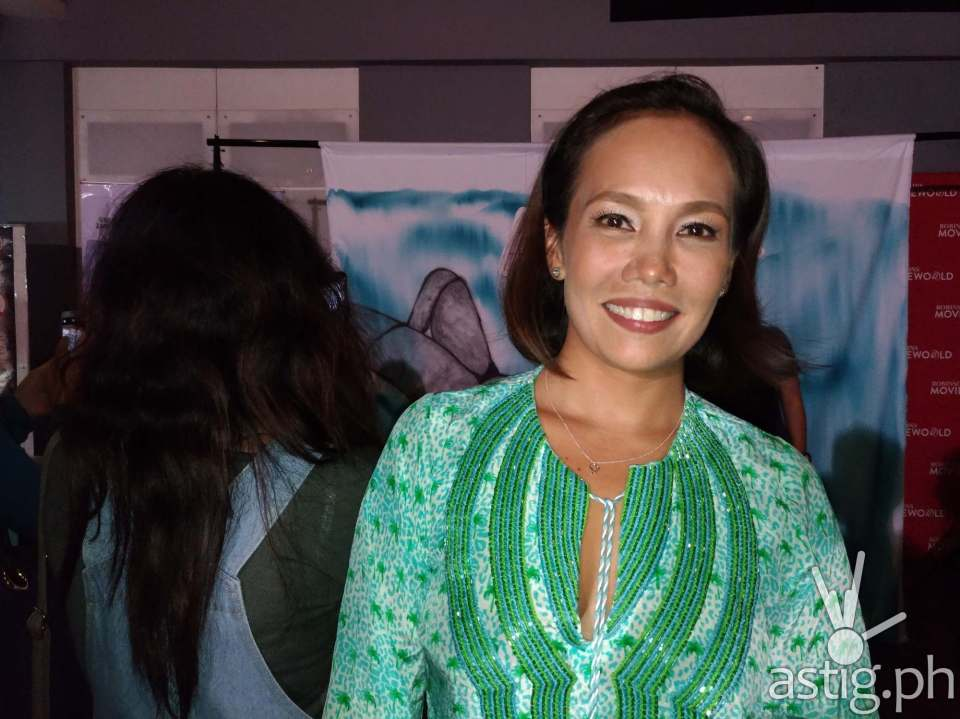 Ana Abad-Santos at the VIP pre-screening of Apocalypse Child