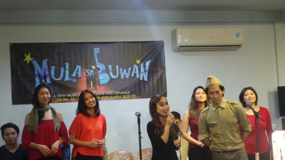 Awit ni Roxane, performed by KL Dizon with the ensemble