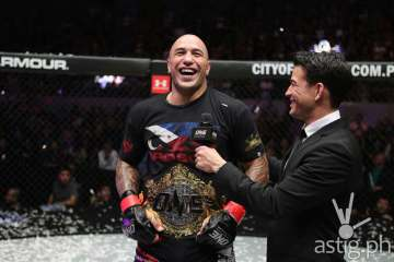 "ONE Championship Heavyweight Champion Brandon ""The Truth"" Vera"