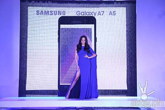 Miss International 2016 Kylie Verzosa is Samsung Galaxy A (2017) brand ambassador