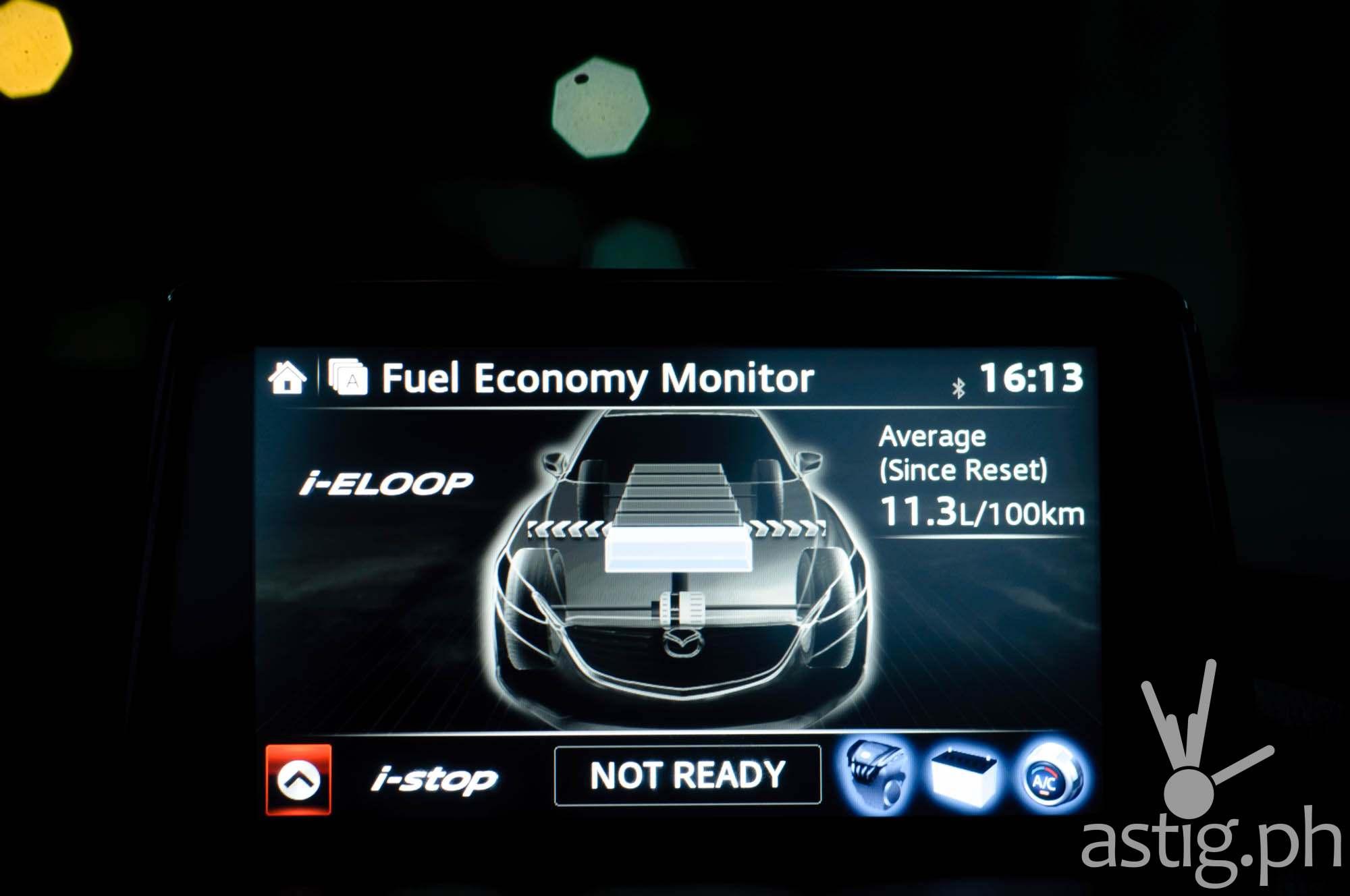 Mazda i-stop reset