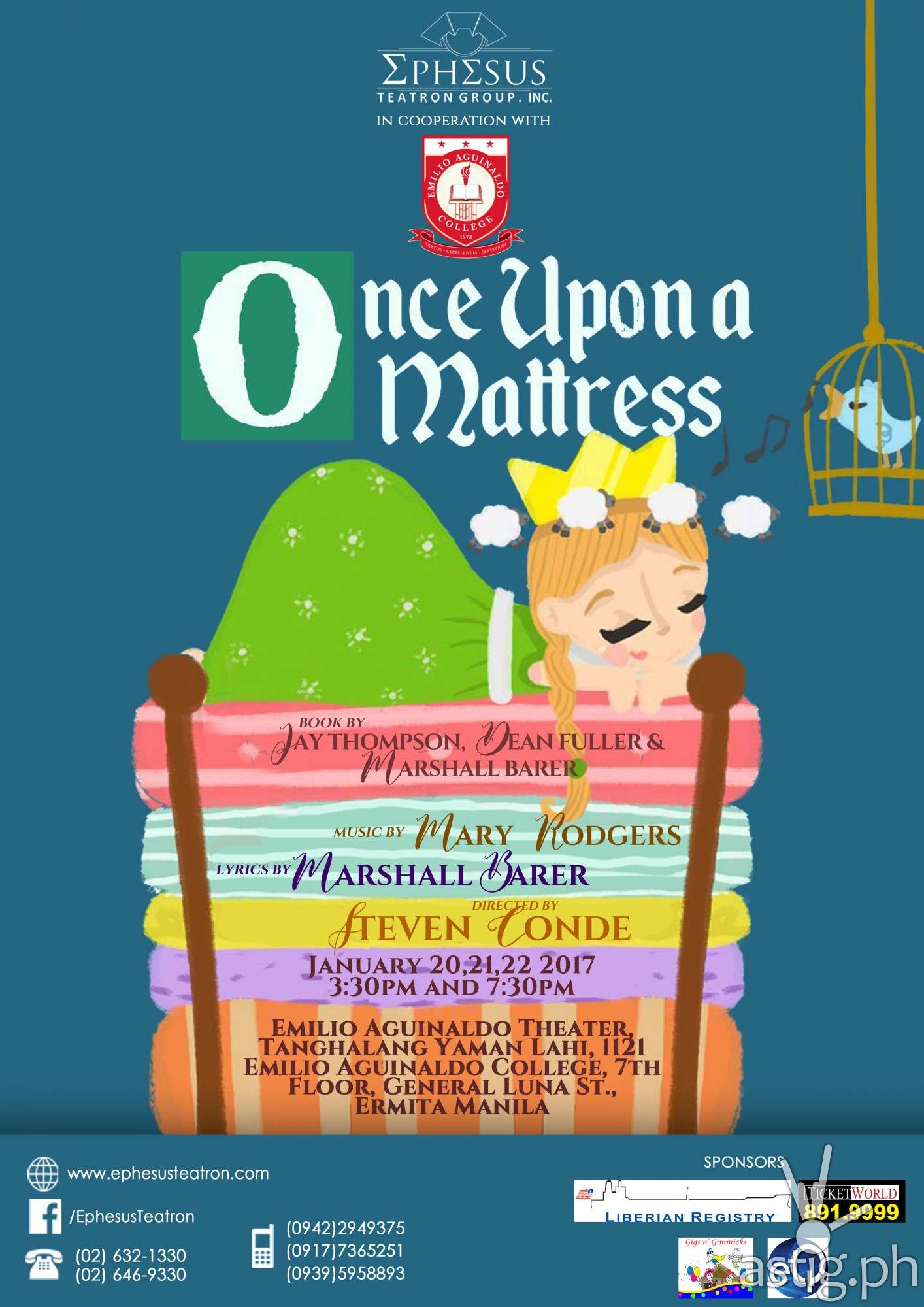 """... Inc. is all set to transport all of us to a magical world of musical  theater as it proudly kicks off its first production for 2017 with """"ONCE  UPON ..."""