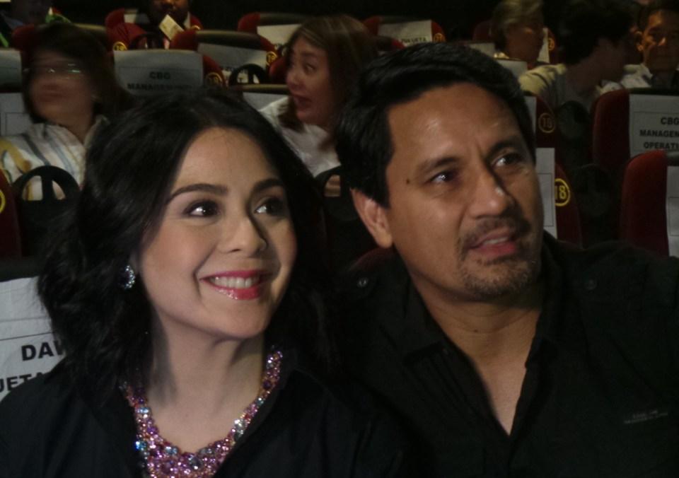 Richard Gomez and Dawn Zulueta