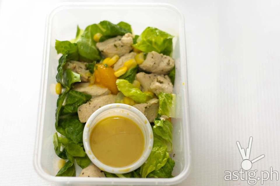Pickle.ph orange chicken salad