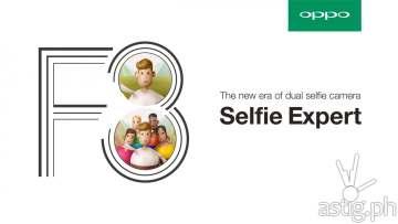 OPPO F3 dual selfie