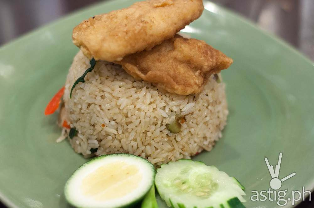 Soi Thai Green Curry Fried Rice with Fish Fillet