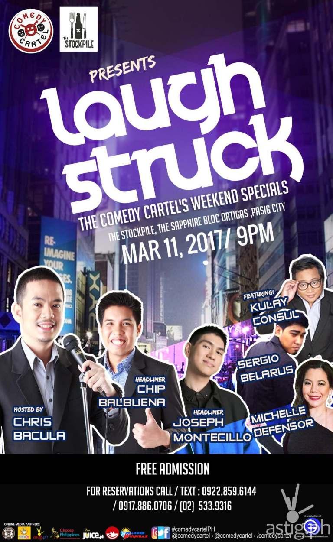 laugh struck poster
