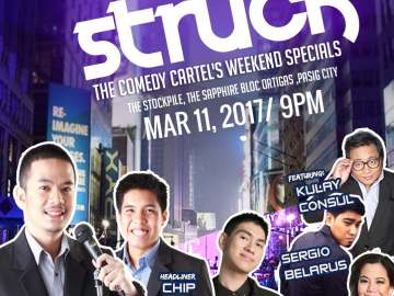 laugh struck poster