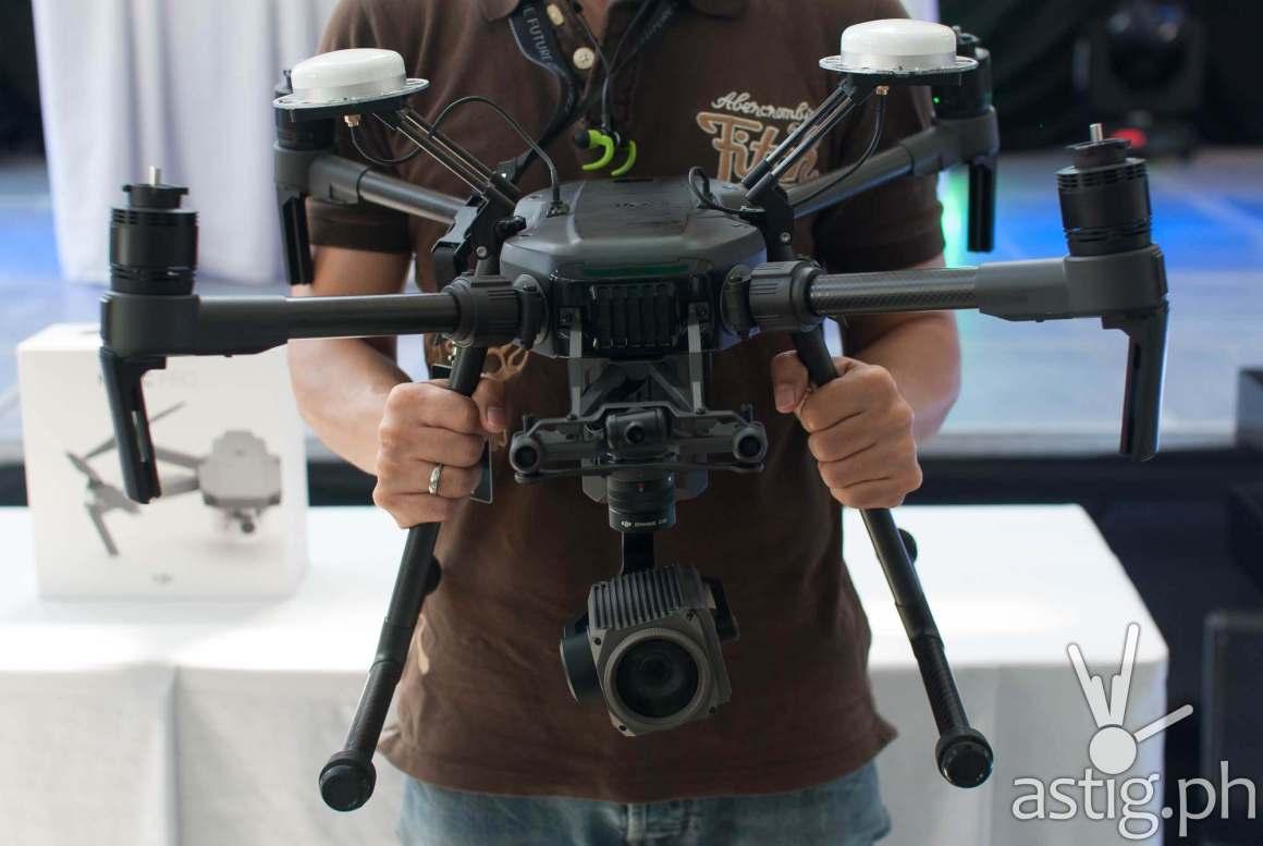DJI Enterprise aerial drone