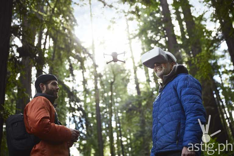 DJI Goggles - Flying With Friend