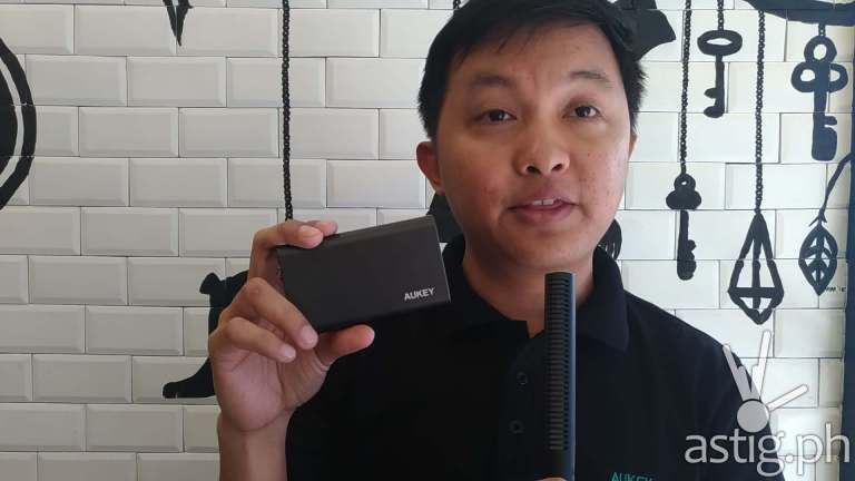 Aukey Philippines Product Manager Alfie introduces the Aukey product line