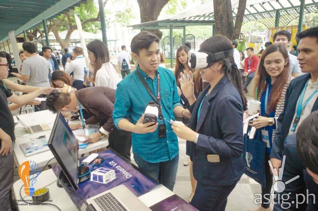 Diwata VR at ENTECH Summit 2017