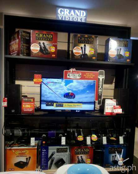 Grand Videoke store display at SM Appliance Center, SM Megamall