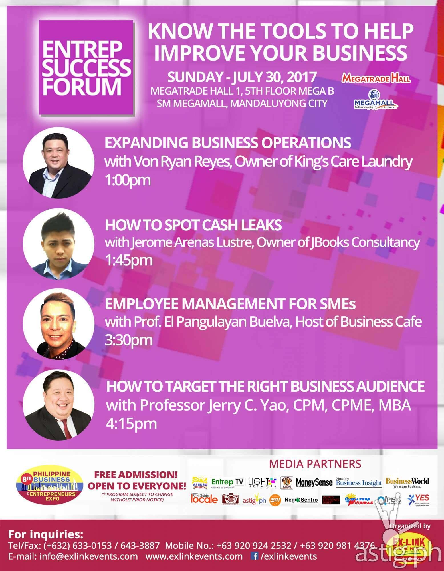 Entrep Success Forum