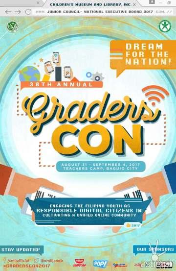 GradersCon poster