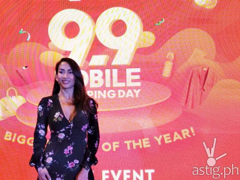 Ina Raymundo is now part of the Shopee family