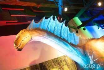 Amargasaurus - Dinosaurs Around The World exhibit - Mind Museum BGC