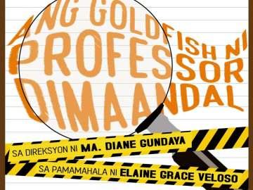 Ang Godlfish ni Professor Dimaandal UST Artistang Artlets