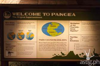 Welcome to Pangea - Dinosaurs Around The World exhibit - Mind Museum BGC