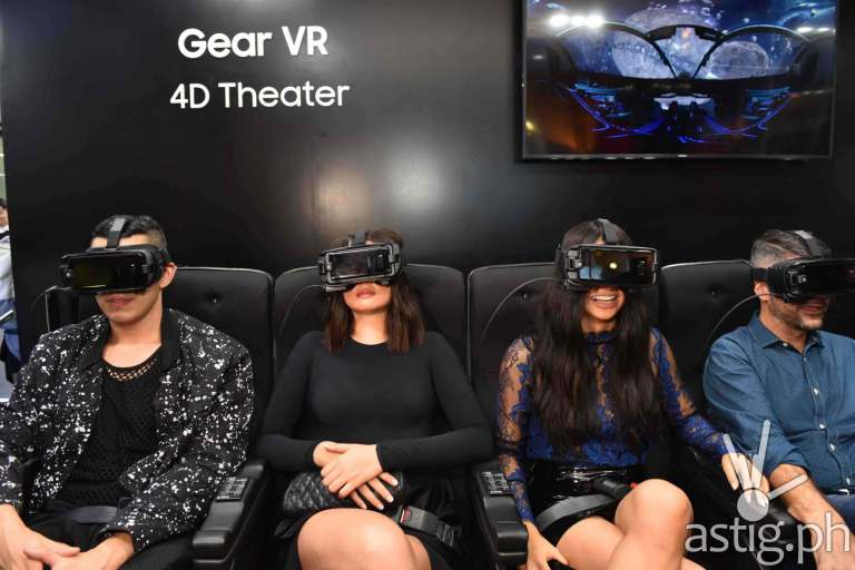Gear VR 4D Theater with Samsung Brand Ambassadors