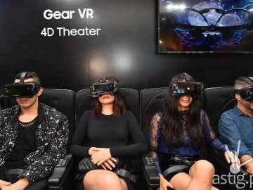 Gear VR 4D Theater with Samsung Brand Ambassadors