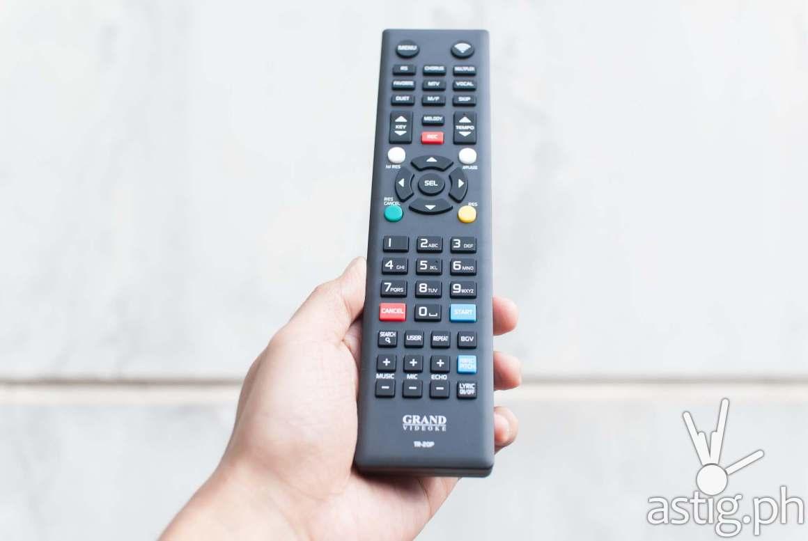 Remote control - Grand Videoke Symphony 3 Pro