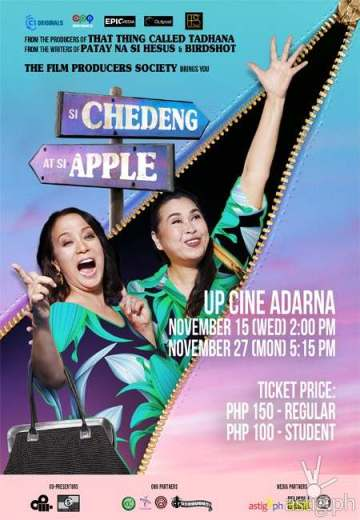 Si Chedeng at Si Apple poster