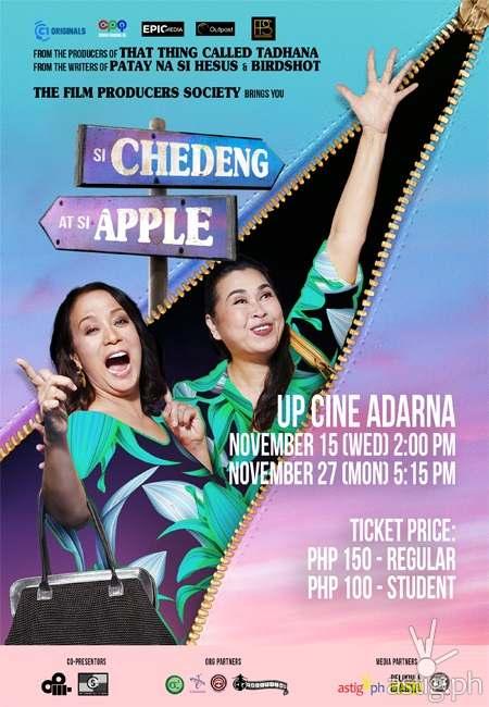 Si Chedeng at Si Apple poster
