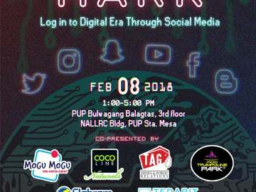Cybermark event poster