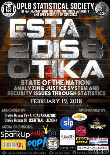 ESTADISTIKA 2018 event poster