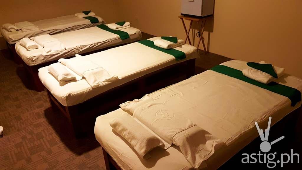 SM Kenko Spa at Winford Hotel Manila - Female Massage Room