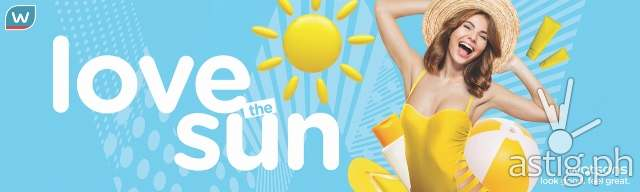 Watsons Love the Sun Summer Campaign