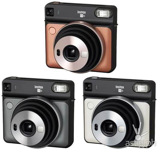 Fujifilm instax SQUARE SQ6 colors