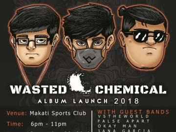 Wasted Chemical album launch - Walwalan 2018 poster