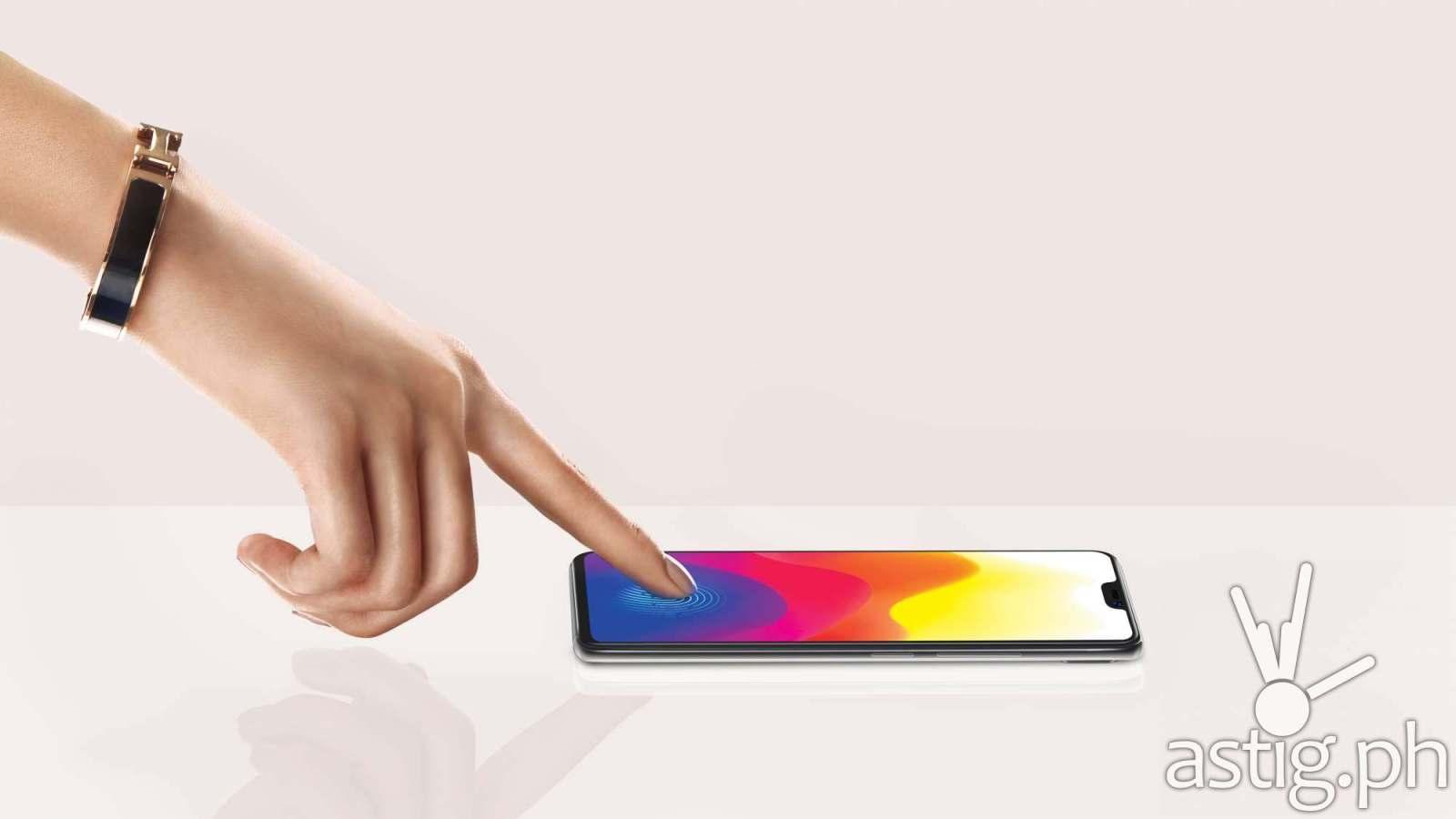 Vivo X21 in-display fingerprint reader