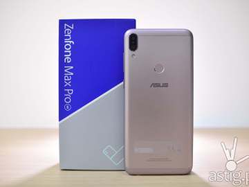 Zenfone Max Pro M1 back with box
