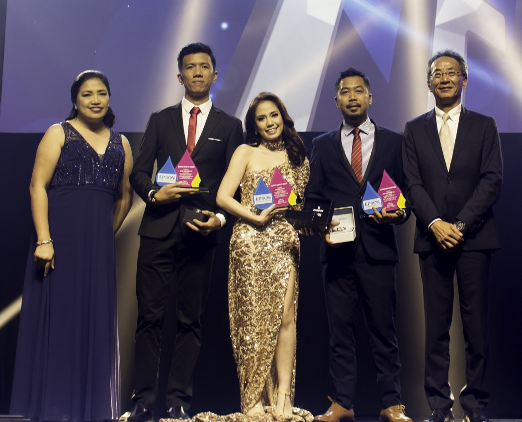 Epson Philippines recognized its employees and partners at the 20th anniversary celebration