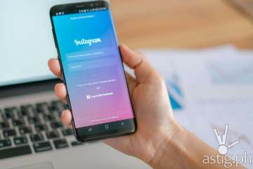 Instagram Samsung S8 smartphone photo by Loei Thailand / Freepik