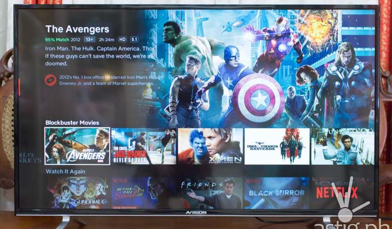 AVision Smart LED TV (43FL801) review: Big-screen LED television with Smart features
