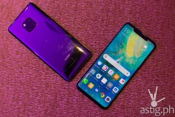 Huawei Mate 20 Pro - front and back