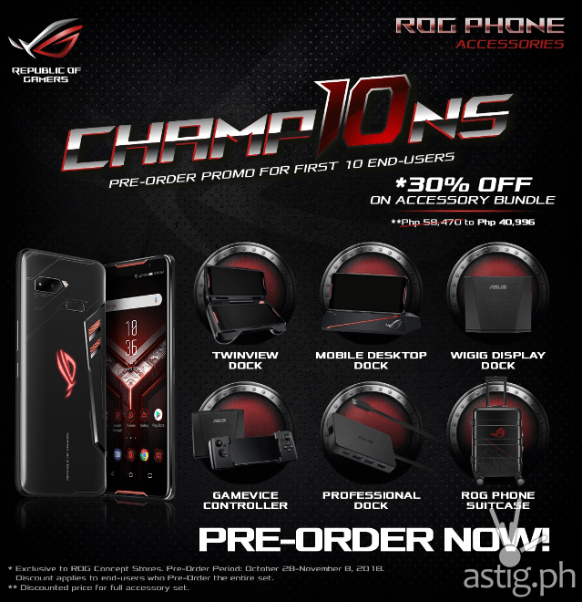 ROG Phone Champ10ns bundle Philippines