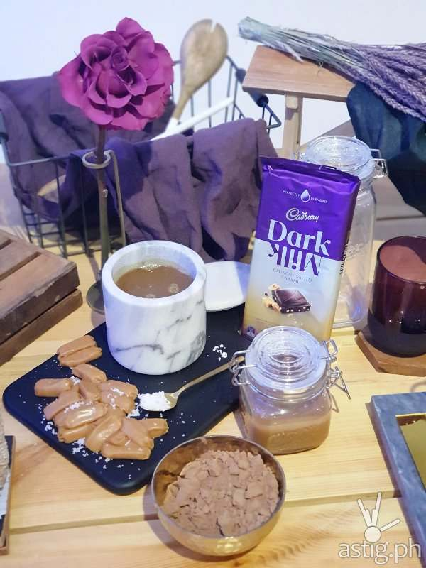 Cadbury Dark Milk Crunchy Salted Caramel